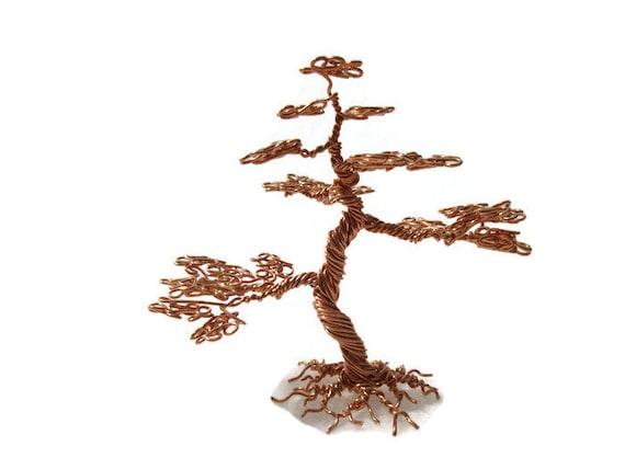 Miniature Informal Upright Bonsai Tree Copper Etsy