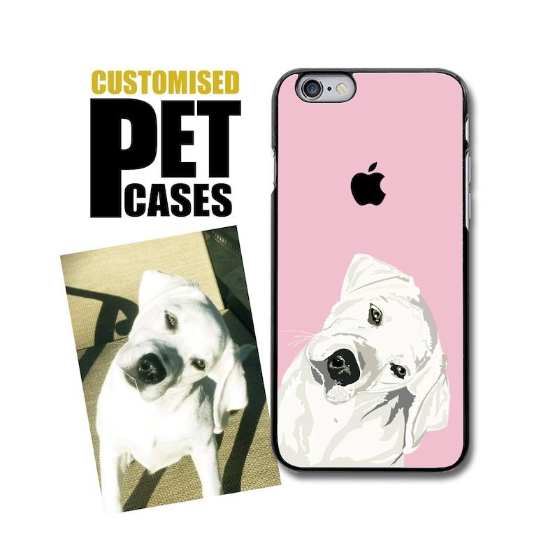 detailed look d4e61 96759 Custom Dog Phone Case - Customised Pet iPhone 5/5S/SE - iPhone X- iPhone  6/6S iPhone 7/8 - Customized Dog Phone Case - Galaxy S6/S7