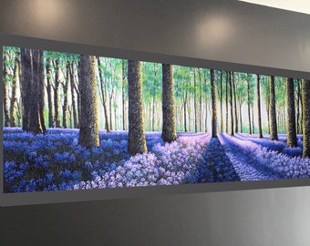 Tree Australia Art painting Print canvas landscape forest woods