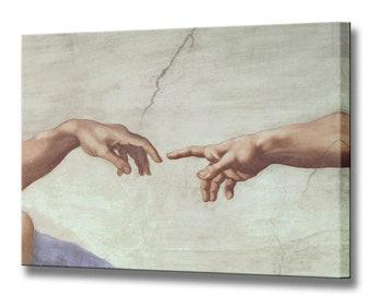 Michelangelo Hands Etsy