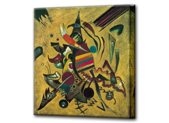 WASSILY KANDINSKY COMPOSITION 5 ABSTRACT CANVAS PRINT PICTURE WALL HANGING ART