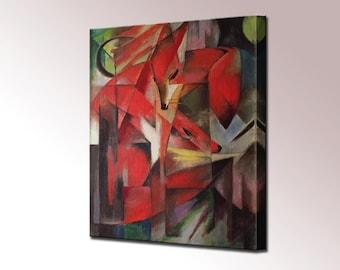 The Fox Franz Marc Canvas Wall Art Canvas Print Wall Decor Canvas Art Print Ready To Hang