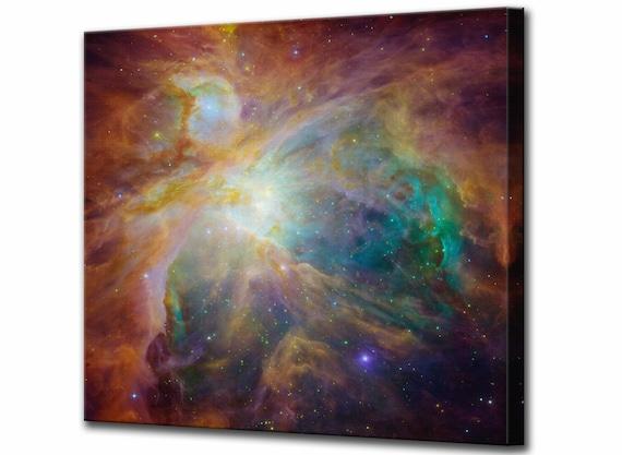 HUBBLE SPACE TELESCOPE ORION NEBULA Canvas art Prints