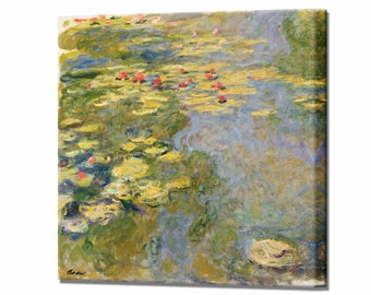 Water lilies Water Lily Pond by Claude Monet Canvas Print Home Decor Interior Design Ready To Hang