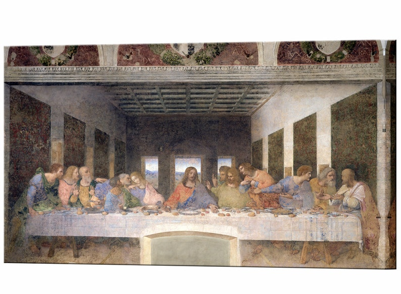 The last supper artwork etsy