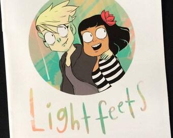 Lightfeets comic by Heather Smith. Mermaid and Goblin girlfriends magic adventure.