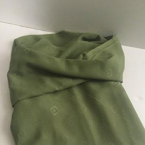 Green Fabric Green Green Polyester Fabric 2 yards plus