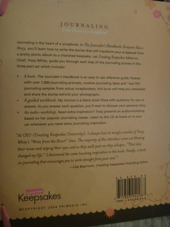 Free Shipping The Journalers Handbook Creating Keepsake Etsy