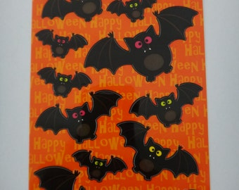 Free Shipping!  Sticko Bat Crazy - 13 Stickers for Scrapbooking and Card Making - New in Package - I1