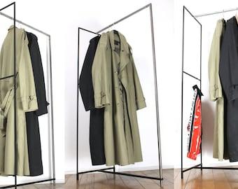 Industrial design Clothing Rack - Shop display - Clothes rack -Industrial - Wardrobe