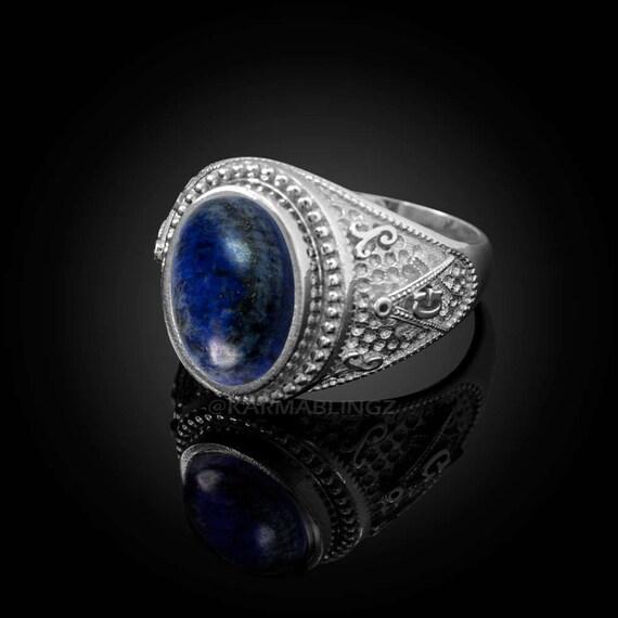 Masonic Jewelry Mens 925 Sterling Silver Personalized CZ Birthstone Statement Ring Freemason
