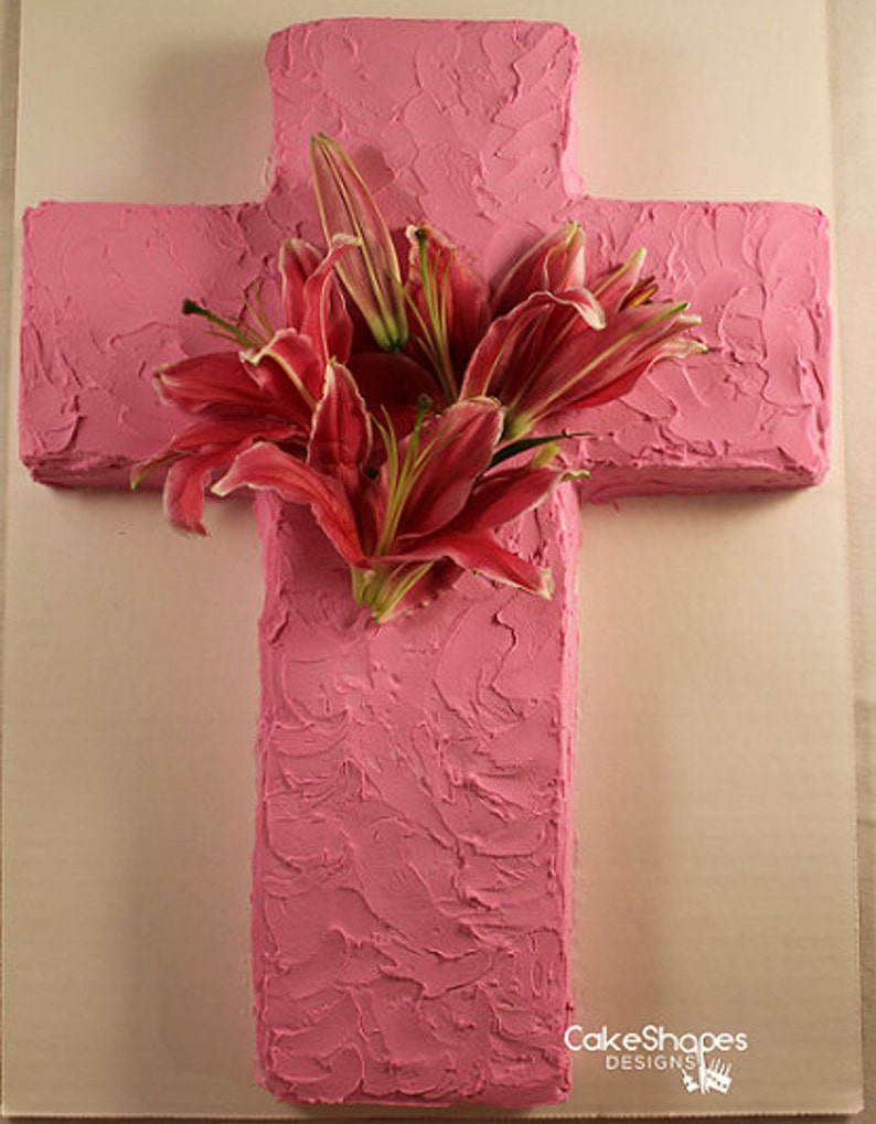 Cross Cut-up Cake Pattern image 0
