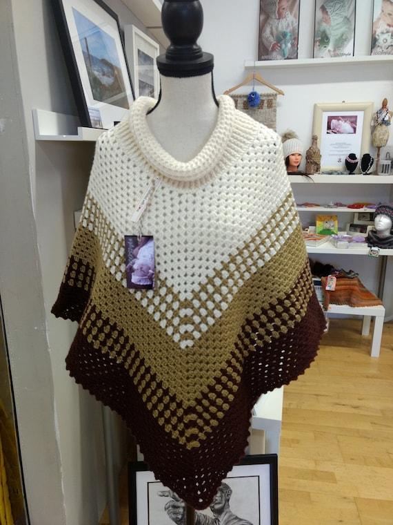 Crochet Crochet Winter Gift Wrap Poncho Wrap Winter Crochet Poncho Wrap Winter Poncho Gift p1nqYO