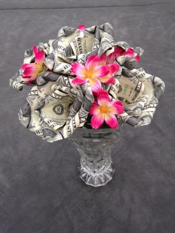 Money Roses Money Roses Bouquet Money Flowers Money   Etsy