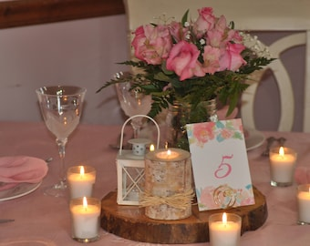 Place Card Holders, Heart in Circle Table Number Holders, Table Number Holder, Name Card Holder, Card Holder, Wire Card Holder, Wedding