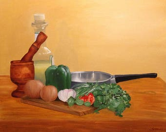 Sofrito - Puerto Rican Limited Edition Giclee Prints and Posters