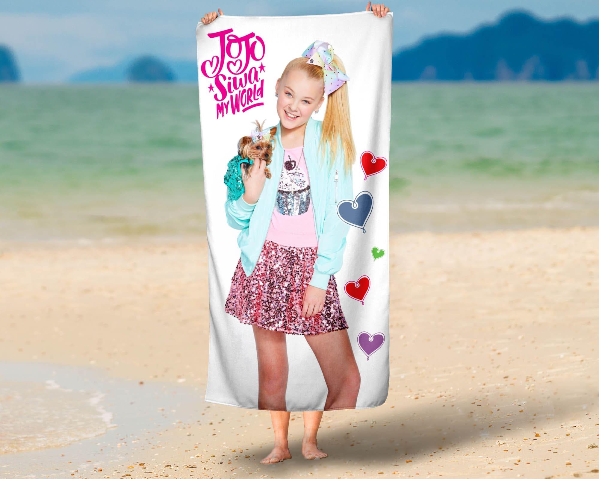 Jojo siwa beach towel jojo siwa microfiber etsy jpg 2000x1600 Jojo siwa  beach 5149abe4b