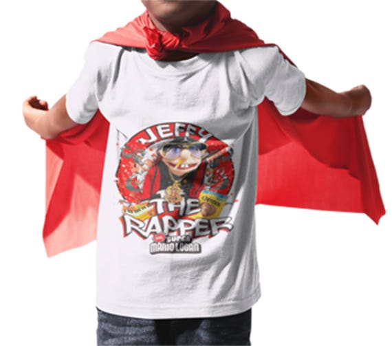 71820cd248a8 Jeffy the Rapper SML white T-Shirt | Etsy