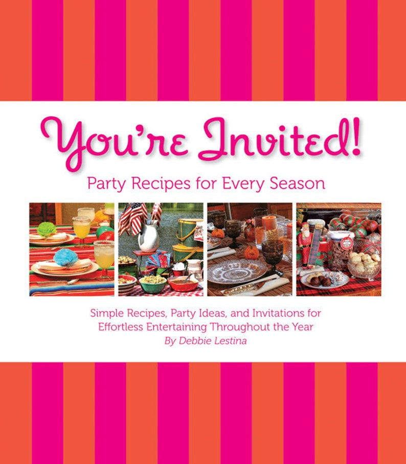 Iowa Cookbook You're Invited Party Recipes For Every image 0