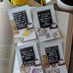 Bookstagram Quote Bookmarks- Pre Order Sale!