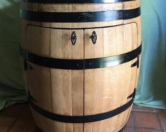 Full Barrel Liquor Cabinet, Bistro Wine Barrel