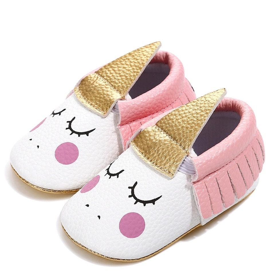 Baby girl Unicorn Baby Shoes | Etsy