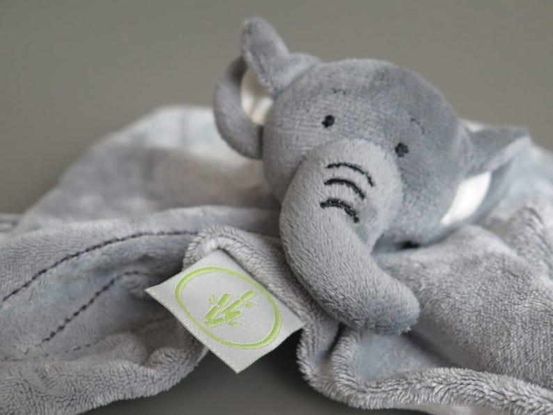 Elephant Doudou Comforter / Elephant Doudou / Elephant Balnkie image 0