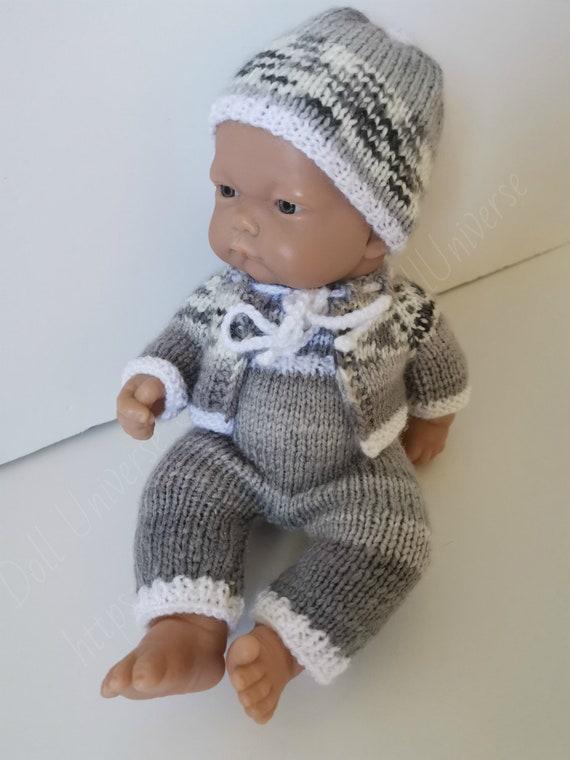 M00236 MOREZMORE Hair Tibetan Lamb Remnants MOCHA BROWN Doll Baby