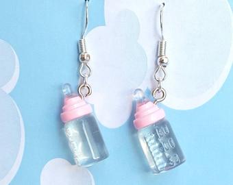 Baby Bottle Earrings