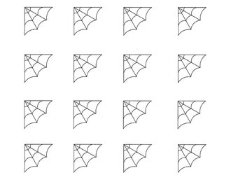 picture about Spider Web Template Printable identified as spider internet template -