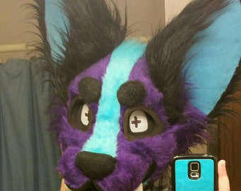Custom Fursuit Head (READ DESC)