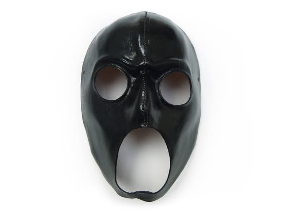 Hero with Studs Leather Mask