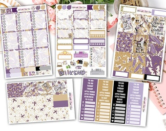 "NEW FORMAT || ""I am Fashion"" weekly kits planner stickers 