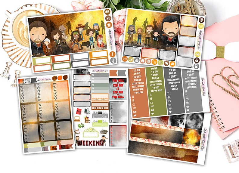 Zombie Killer  Vertical Weekly Kit image 1