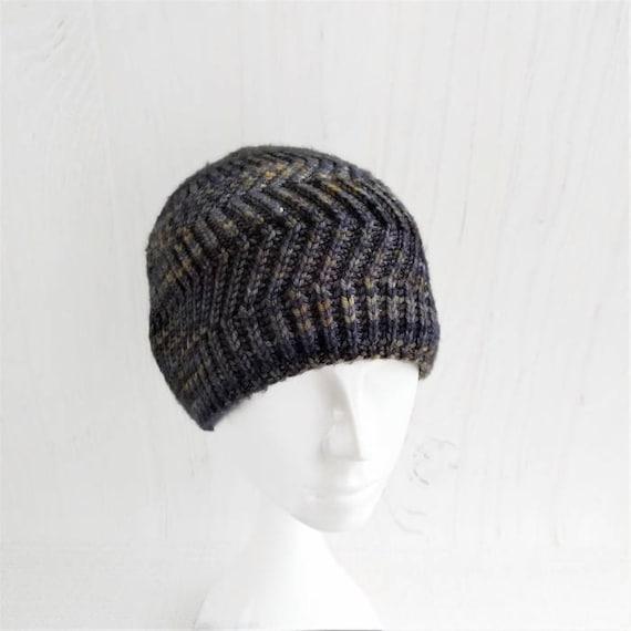 Mens merino wool knit beanies hat Man wool knit hats caps  3d832bf344b