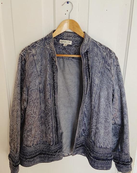 Vintage 1970s Embroidered Jacket