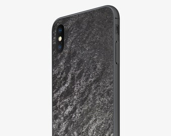 6445c22414fd Special Edition iPhone Case Real Slate Stone Steel Grey for iPhone X and 6+