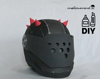 DIY Fortnite Battle Royale - Rust Lord helmet template for EVA foam
