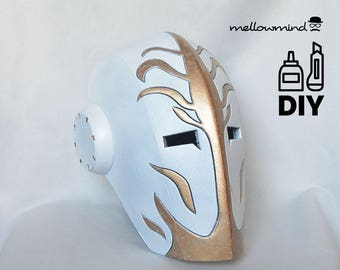 DIY Jedi Temple Guard helmet template for EVA foam