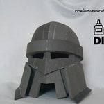 DIY basic dwarf helmet templats for EVA foam