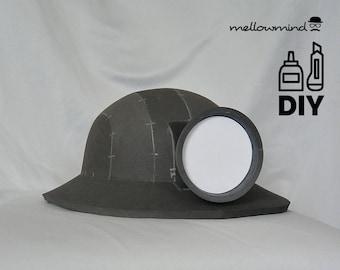 DIY Underminer helmet template for EVA foam