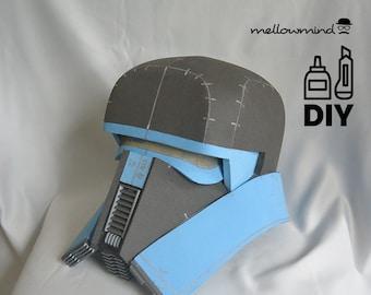 DIY Solo A Star Wars Story - Range Trooper helmet template for EVA foam