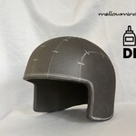 Basic army helmet template for EVA foam