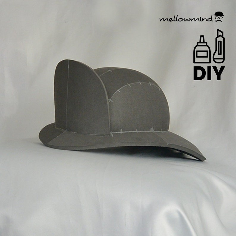 DIY firefighter helmet template for EVA foam image 0