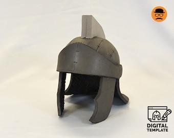 DIY Roam soldier helmet templats for EVA foam