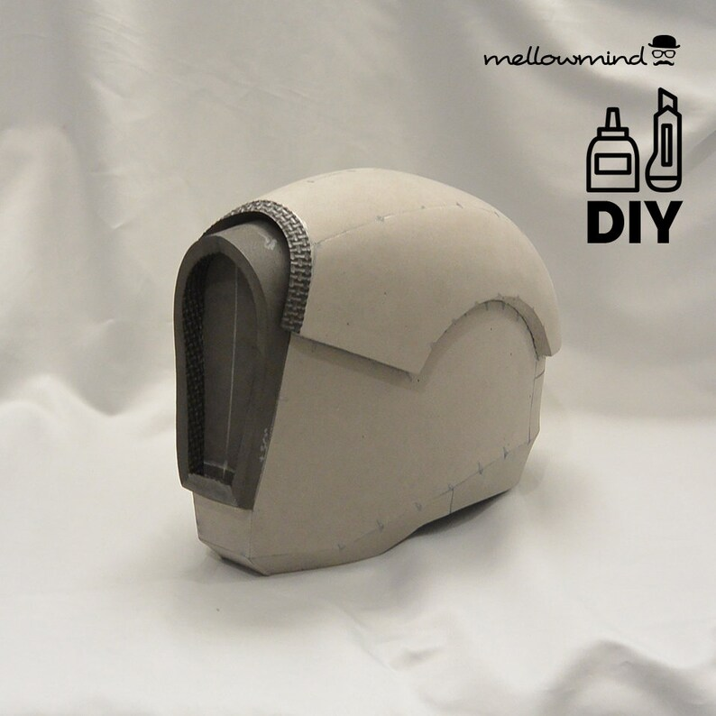 DIY Space Warrior helmet template for EVA foam image 0