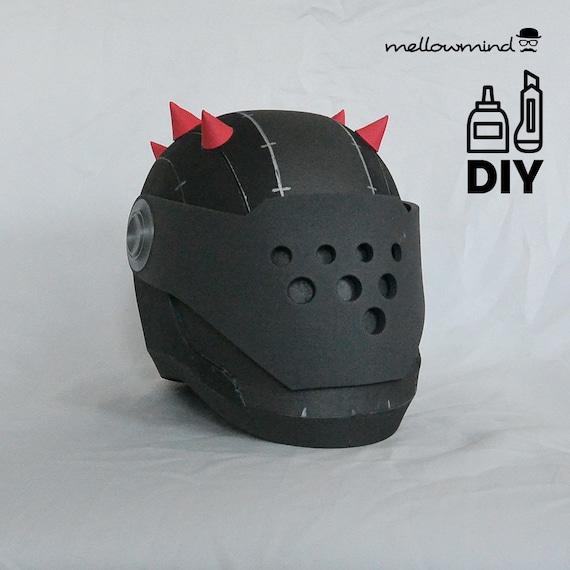 diy fortnite battle royale rust lord helmet template for eva etsy