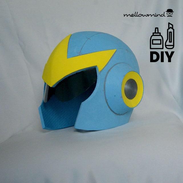 DIY Proto Man helmet template for EVA foam   Etsy