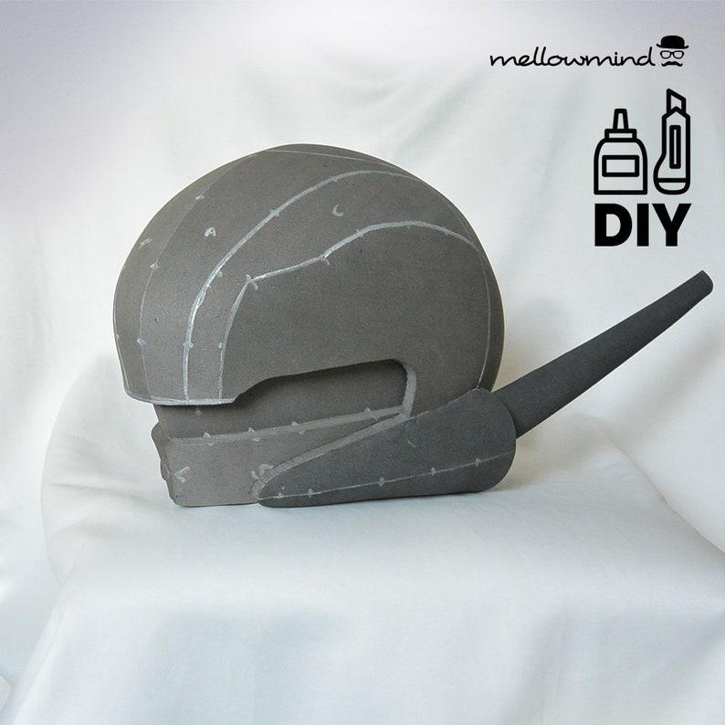 DIY Cyborg helmet  templats for EVA foam image 0