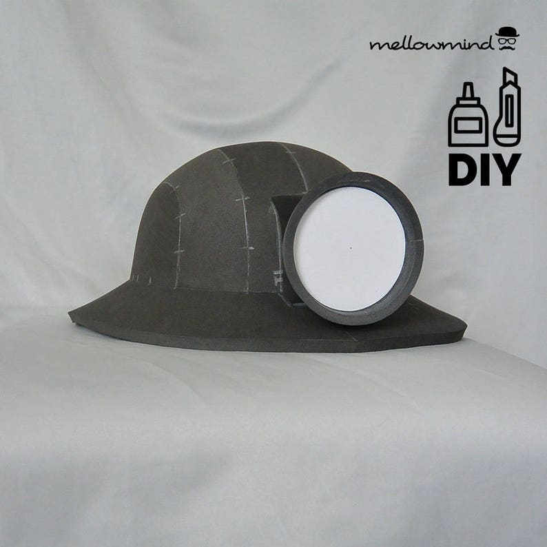 DIY Underminer helmet template for EVA foam image 0